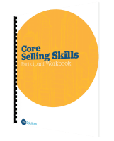 core selling skills